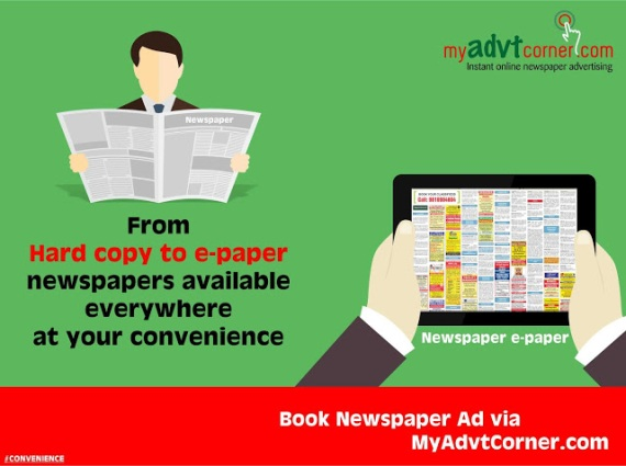 Newspaper Ads in India