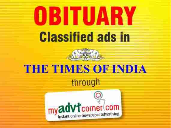 Obituary-Classified-Advertisement